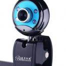 蓝色妖姬台式电脑摄像头高清带麦克风免驱笔记本家用视频美颜直播